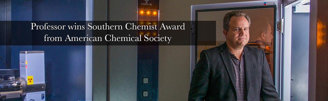 FSU professor wins Southern Chemist Award from American Chemical Society